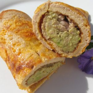 TUNA-AVO OMELETTE ROLL|www.andthentherewasfood.co.za
