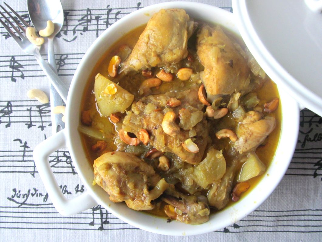 Coconut Curry Chicken|www.andthentherewasfood.co.za