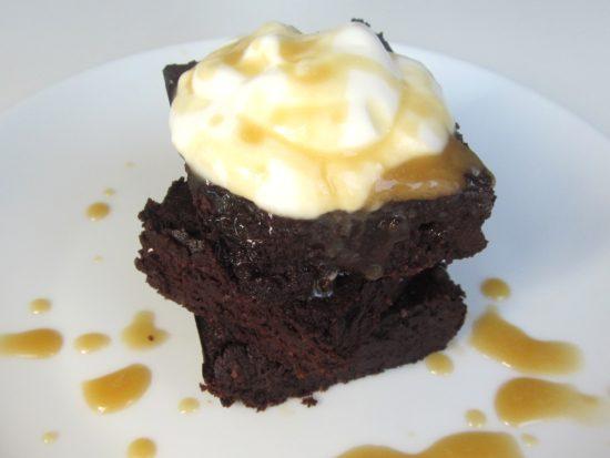 Deliciously Dark Brownies www.andthentherewasfood.co.za