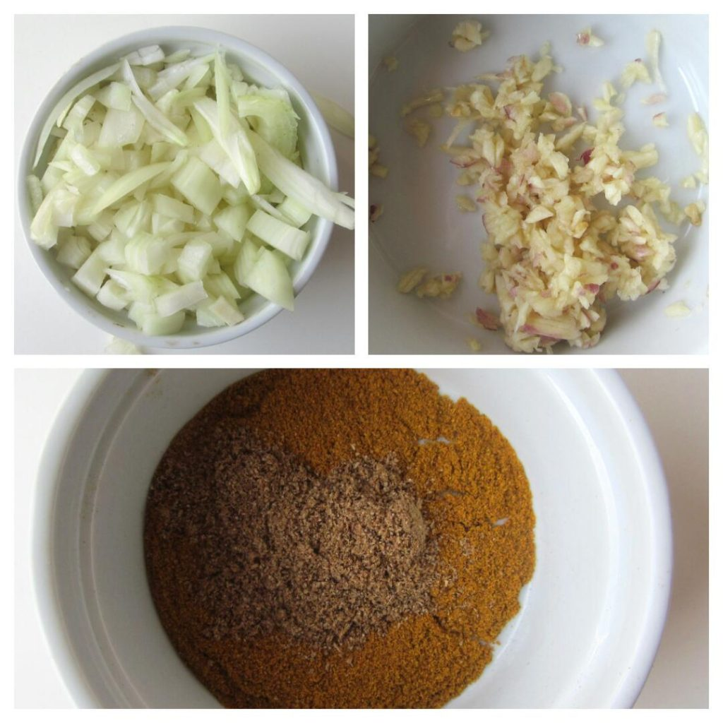 Onions, Garlic and Curry powder|www.andthentherewasfood.co.za