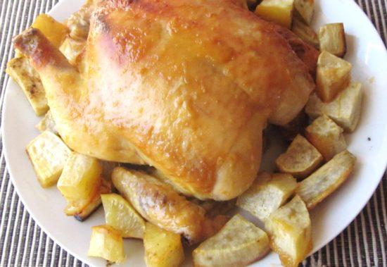 SIMPLE STICKY HONEY&MUSTARD CHICKEN|www.andthentherewasfood.co.za