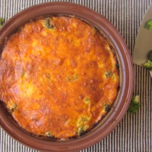 Quick & Easy Crustless Quiche|www.andthentherewasfood.co.za