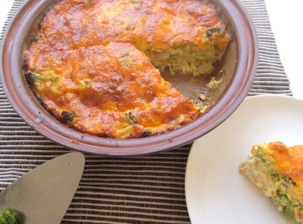 Smoked Angelfish & Broccoli Quiche|www.andthentherewasfood.co.za