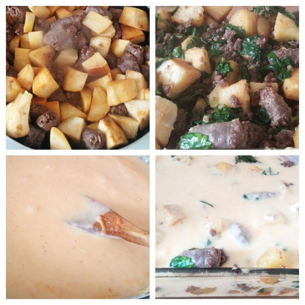YUM IN PROCESS www.andthentherewasfood.co.za