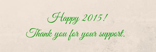 HAPPY 2015|www.andthentherewasfood.co.za