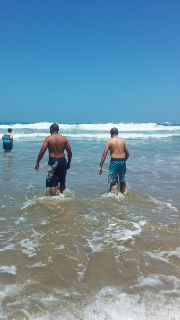 Our men taking the first step|www.andthentherewasfood.co.za