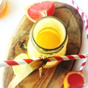 MANGO-GRAPEFRUIT SMOOTHIE|www.andthentherewasfood.co.za