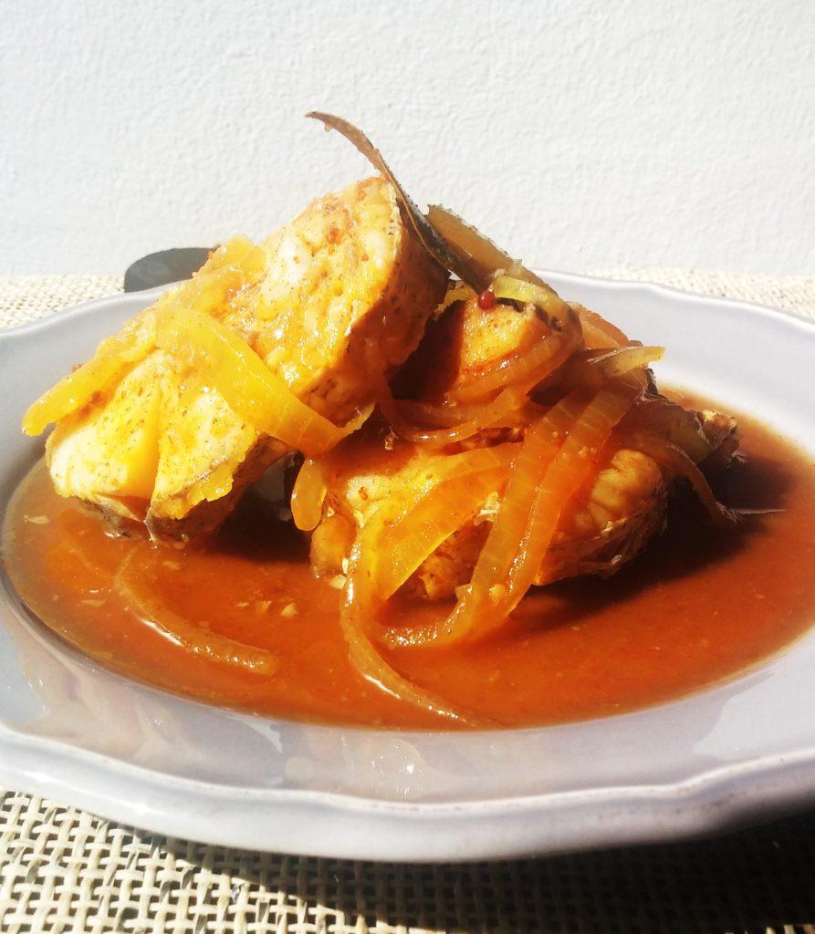 healthier pickled fish www.andthentherewasfood.co.za
