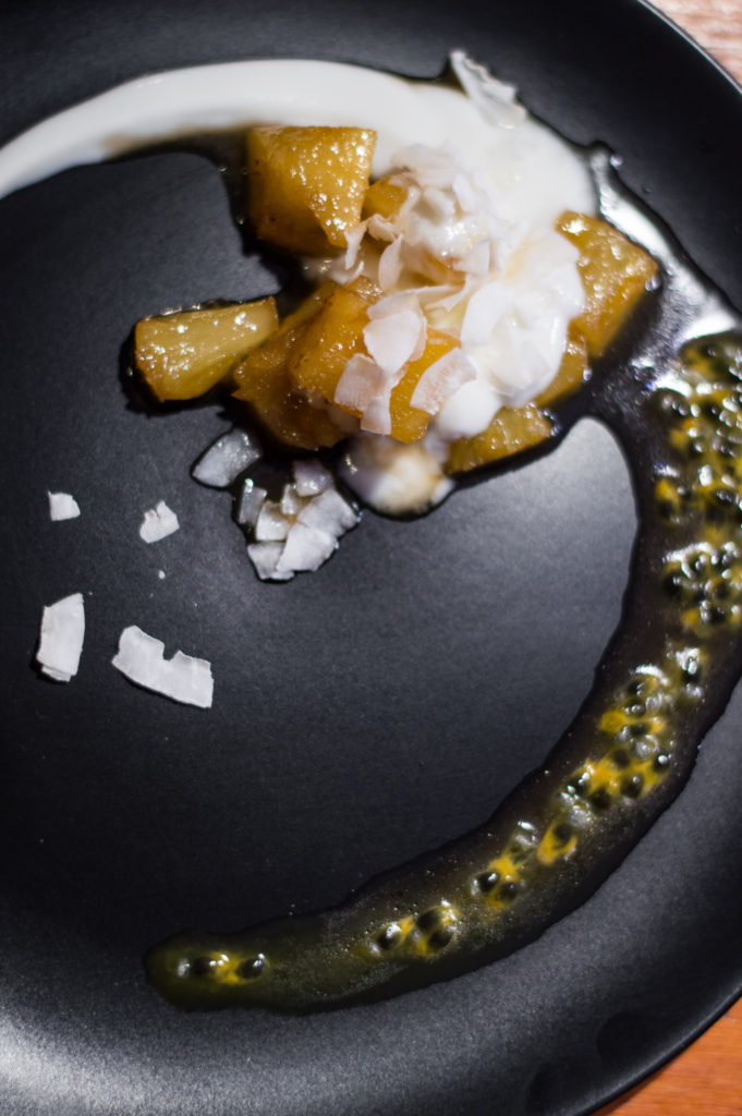 Caramelised pineapple and coconut dessert | www.andthentherewasfood.co.za