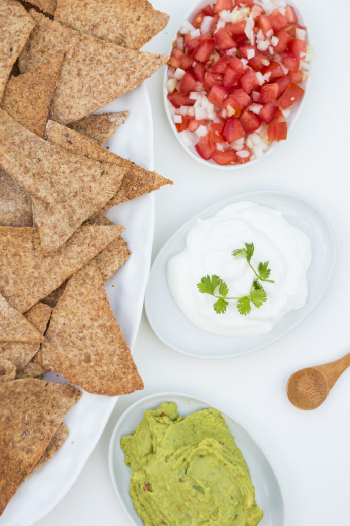 Tortilla chips from scratch | www.andthentherewasfood.co.za