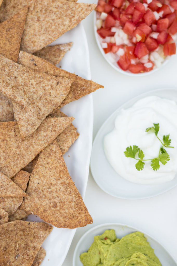 Whole wheat tortilla chips | www.andthentherewasfood.co.za