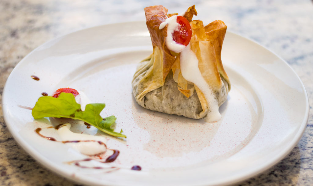 Spinach and Feta in Phyllo at Anna Beulah| www.andthenthentherewasfood.co.za