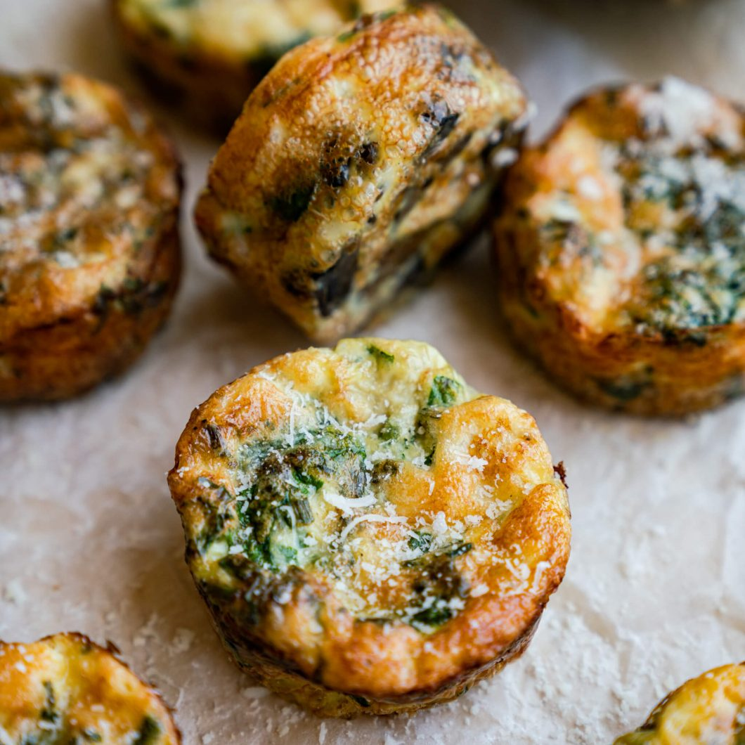 Mushroom and Spinach quiche | www.andthentherewasfood.co.za