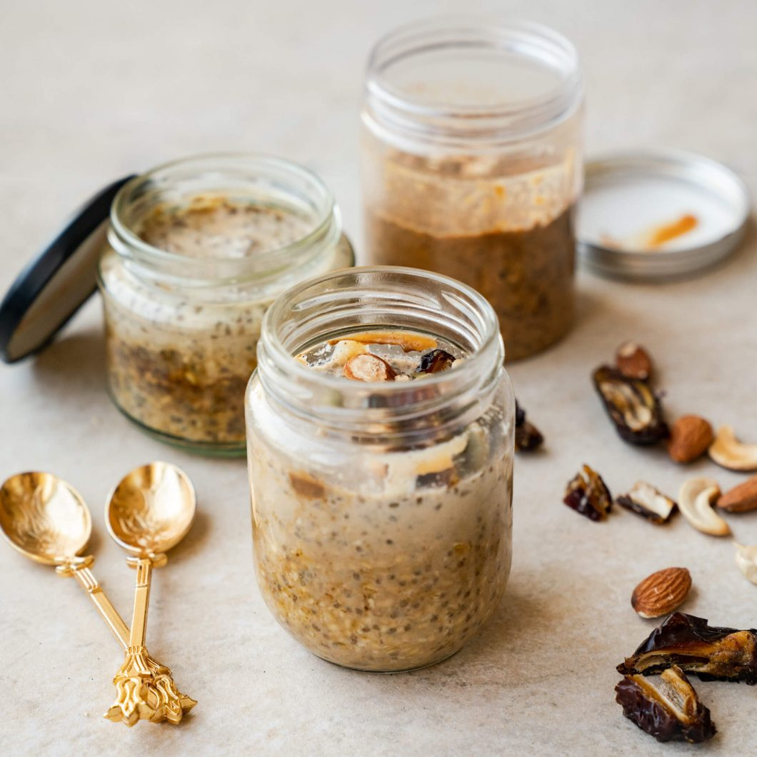 Middle Eastern Overnight Oats | www.andthentherewasfood.co.za