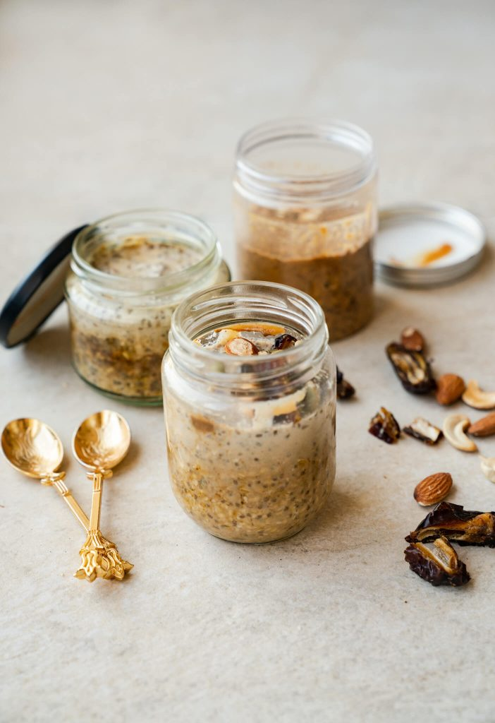 Dairy-free Overnight Oats | https://andthentherewasfood.co.za/