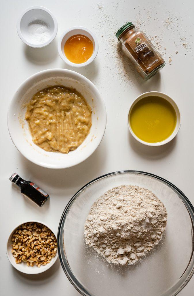 plant based banana bread recipe | https://andthentherewasfood.co.za/