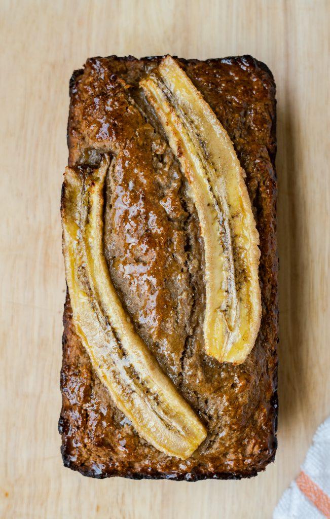 eggless banana bread | https://andthentherewasfood.co.za/